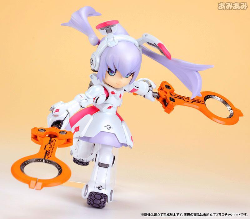 Ichigeki Sacchu!! HoiHoi-san LEGACY 1/1 DG-001LN Usagear Plastic Model 15