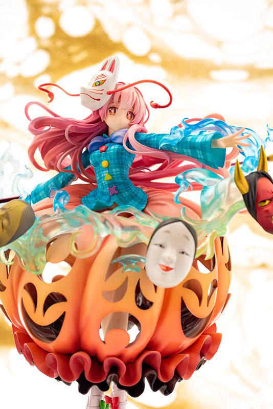 "Touhou Project ""The Expressive Poker Face"" Kokoro Hatano 1/8 Complete Figure 8"