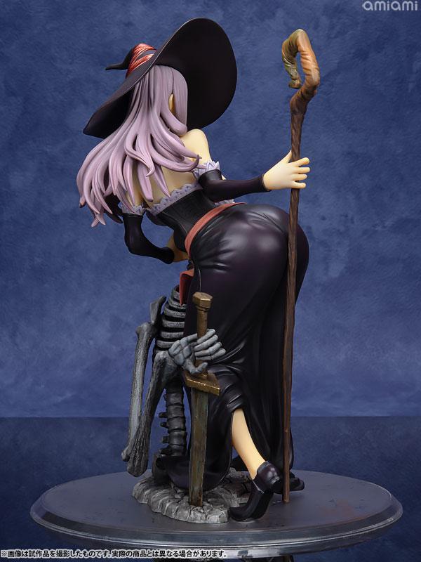 Dragon's Crown Sorceress Darkness Crow ver. 1/7 Complete Figure 4