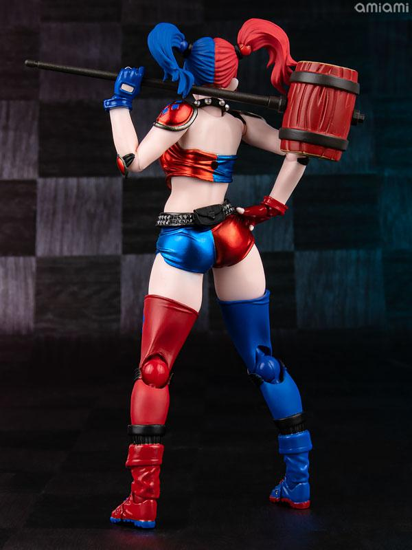 Amazing Yamaguchi No.015EX-2 Harley Quinn Red x Blue Twin-tail .ver (AmiAmi Exclusive Color Edition) product