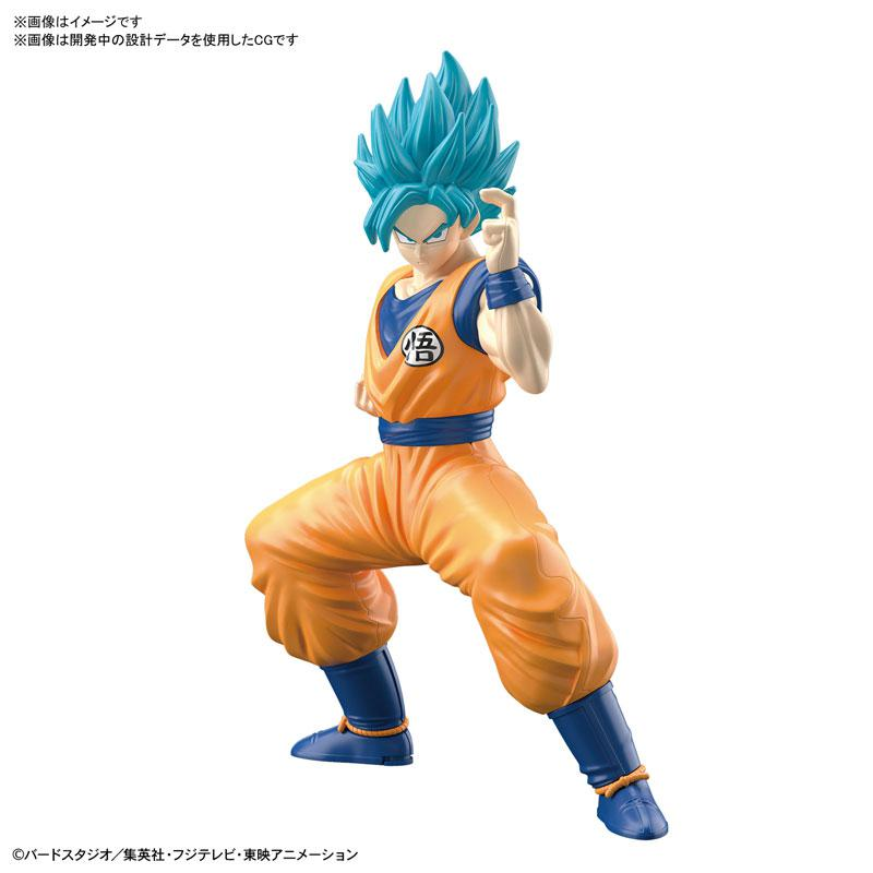 "ENTRY GRADE Super Saiyan God Super Saiyan Son Goku Plastic Model ""Dragon Ball Super"" main"