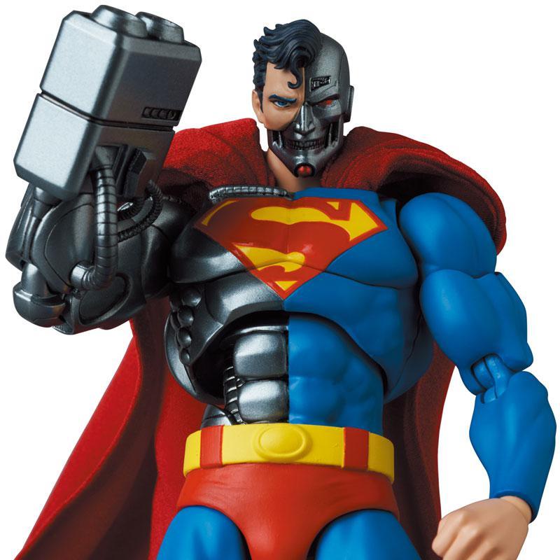 "MAFEX No.164 MAFEX CYBORG SUPERMAN (RETURN OF SUPERMAN) ""RETURN OF SUPERMAN"" product"
