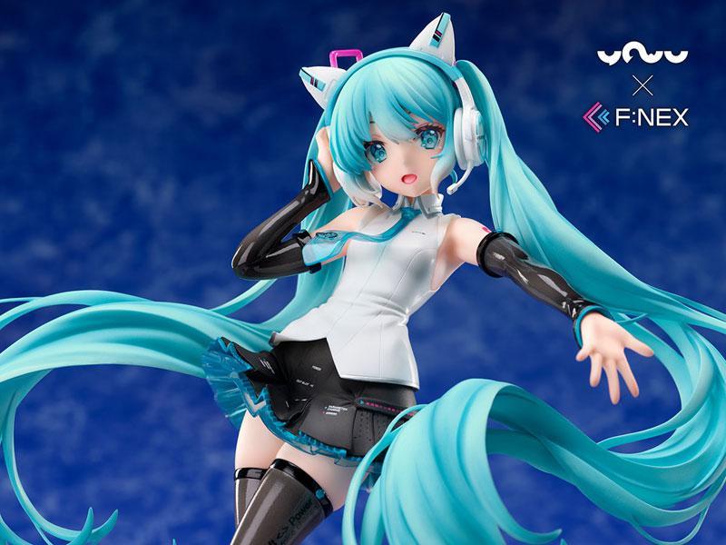 [YOWU x F:NEX] Hatsune Miku Cat Ear Headphone Ver. 1/7 Complete Figure
