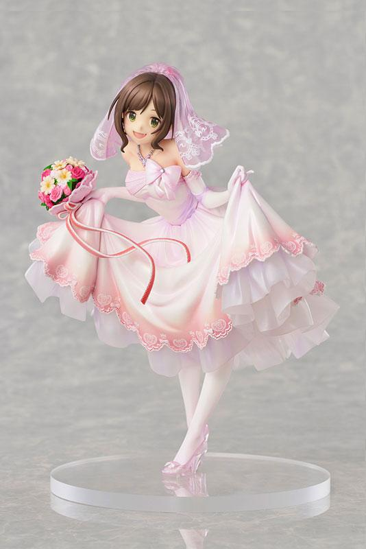 THE IDOLM@STER Cinderella Girls Miku Maekawa Dreaming Bride ver. Limited Edition 1/7 Complete Figure main