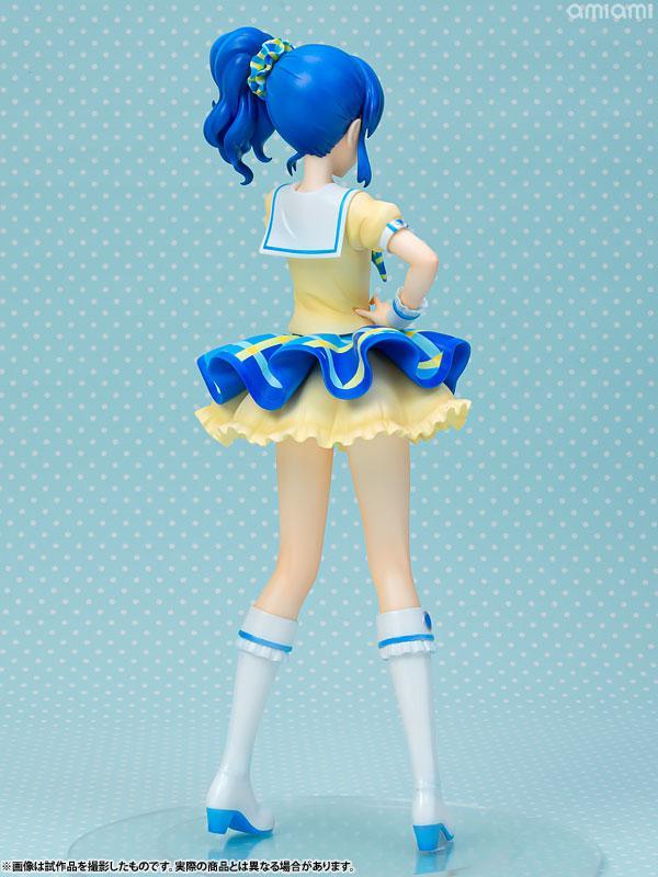 Lucrea Aikatsu! Aoi Kiriya Blue Stage Coord 1/7 Complete Figure 4