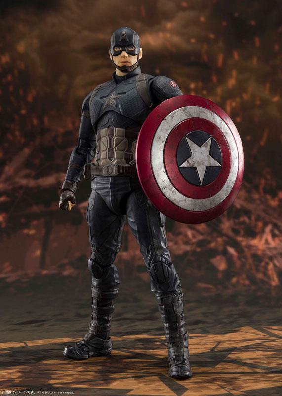 S.H.Figuarts Captain America -[FINAL BATTLE] EDITION- (Avengers: Endgame) main