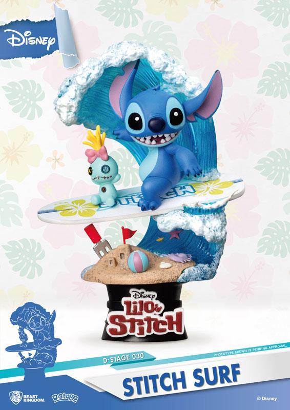"D-Stage #030 ""Lilo & Stitch"" Stitch Surfing product"