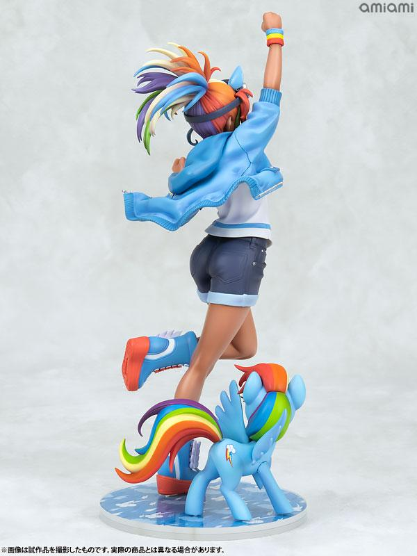 MY LITTLE PONY BISHOUJO Rainbow Dash 1/7 Complete Figure 4