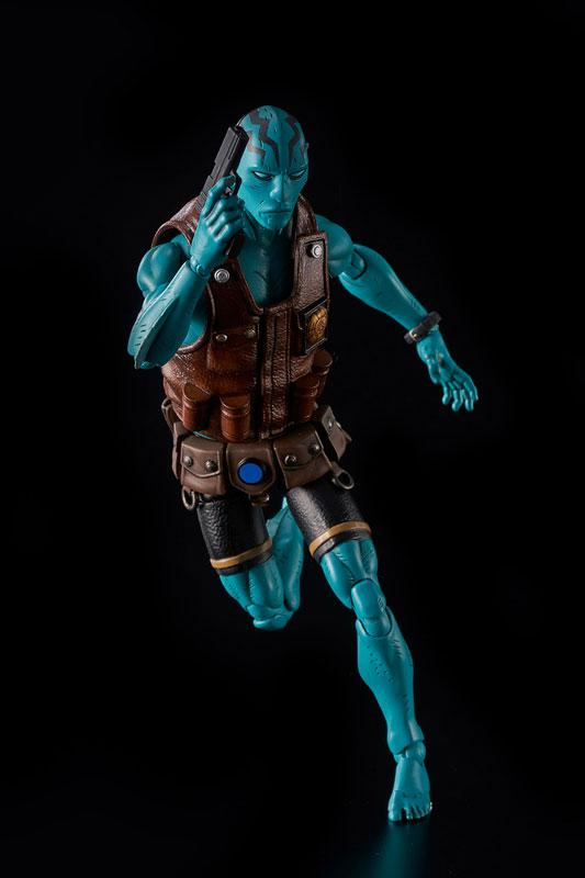 Hellboy Abe Sapien 1/12 Action Figure 4