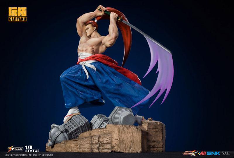 Samurai Shodown 2/ Genjuro Kibagami 1/8 Statue 6