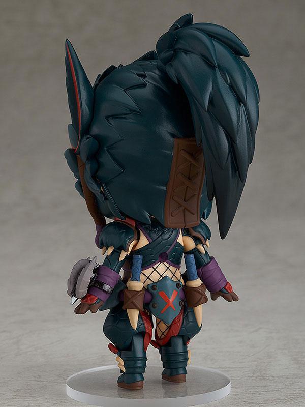 Nendoroid Monster Hunter World: Iceborne Hunter: Female Nargacuga Alpha Armor Ver. DX 6