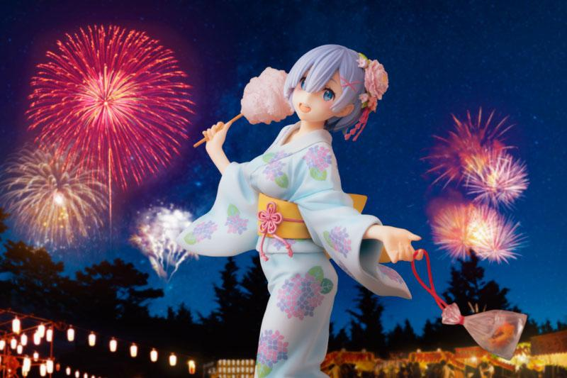 KDcolle Re:ZERO -Starting Life in Another World- Rem Yukata Ver. Repaint 1/7 Complete Figure