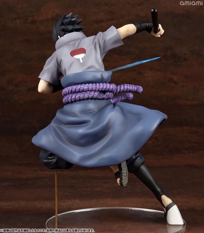 G.E.M. Series NARUTO Shippuden Sasuke Uchiha Shinobi World War ver. Complete Figure 4