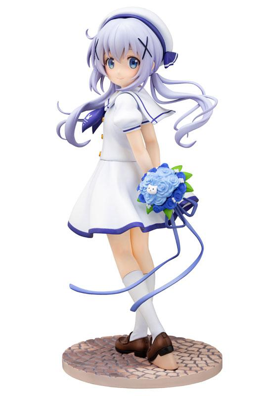 Is the order a rabbit?? Chino (Summer Uniform) 1/7 Complete Figure main