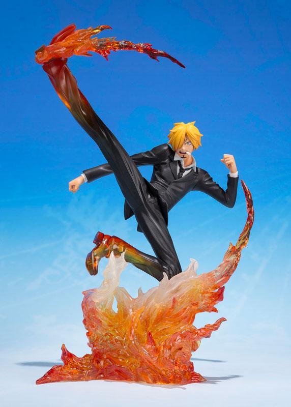 Figuarts ZERO Sanji Diable Jambe Premiere Hache Static Figure Bandai ONE PIECE