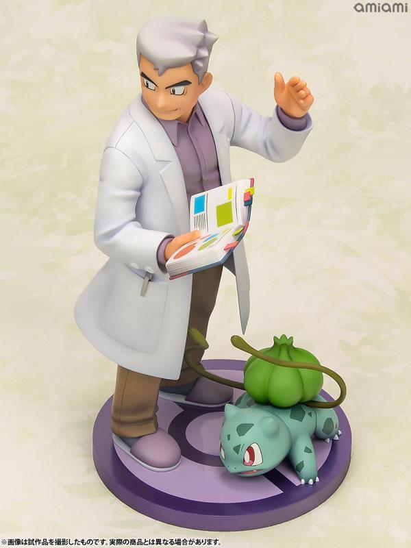 "ARTFX J ""Pokemon"" Series Professor Oak with Bulbasaur 1/8 Complete Figure"