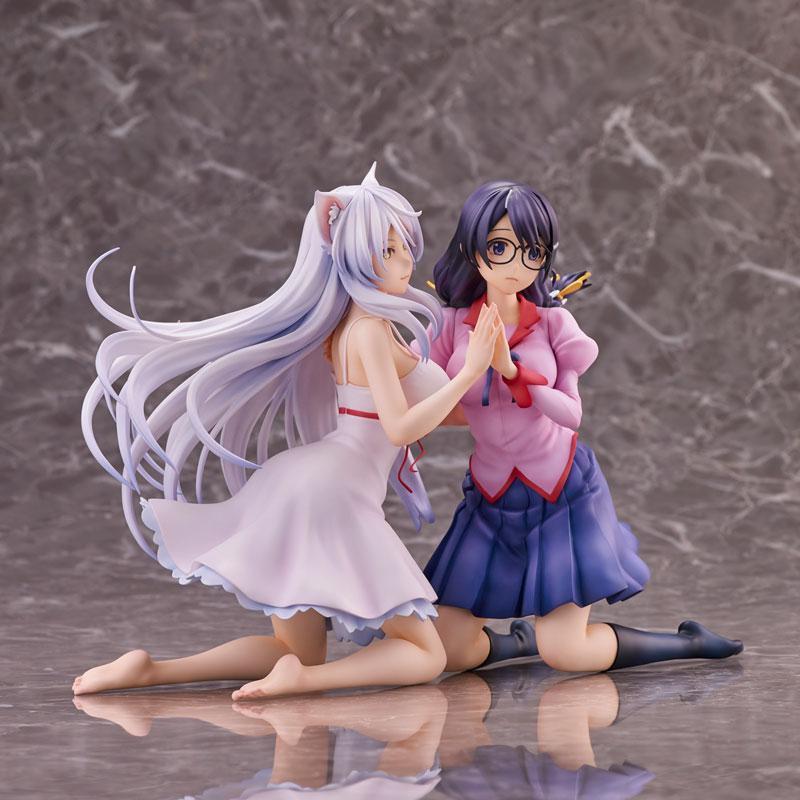 """""""Nekomonogatari"""" Tsubasa Hanekawa 2 Figures Set Complete Figure 5"""