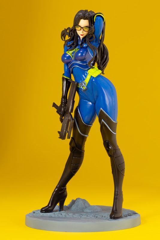 G.I. JOE Bishoujo Baroness 25th Anniversary Blue Limited Edition 1/7 Complete Figure 5