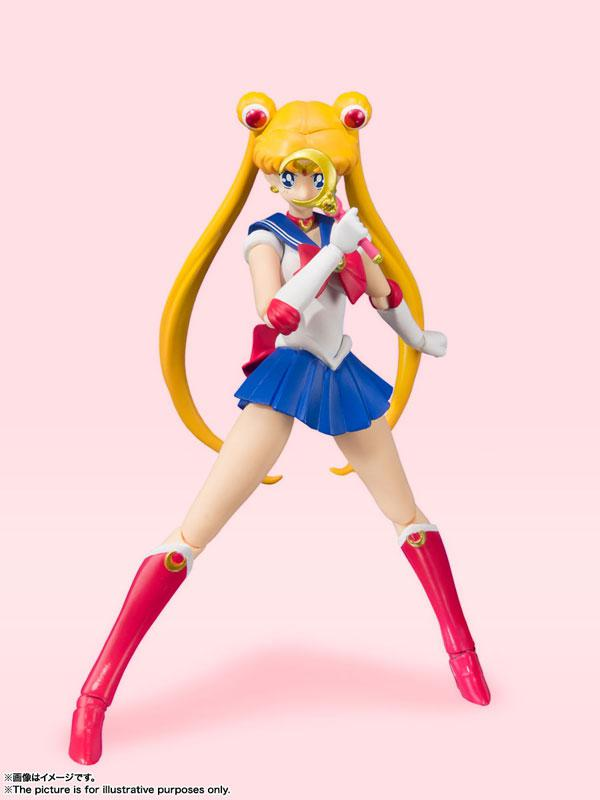 "S.H.Figuarts Sailor Moon -Animation Color Edition- ""Sailor Moon"""