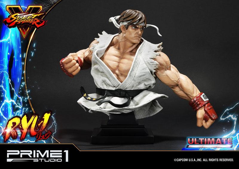 Premium Master Line Street Fighter V Ryu Ultimate 1/4 Statue 12
