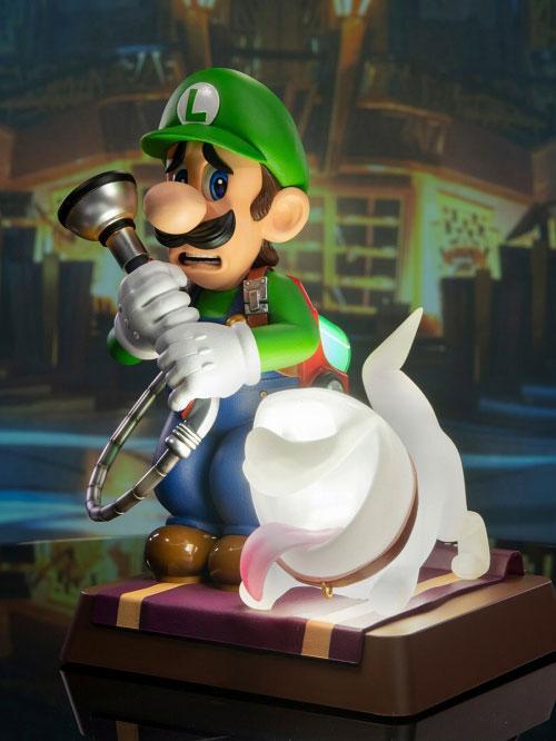 Luigi's Mansion 3/ Luigi 9 Inch PVC Statue Collector Edition 28