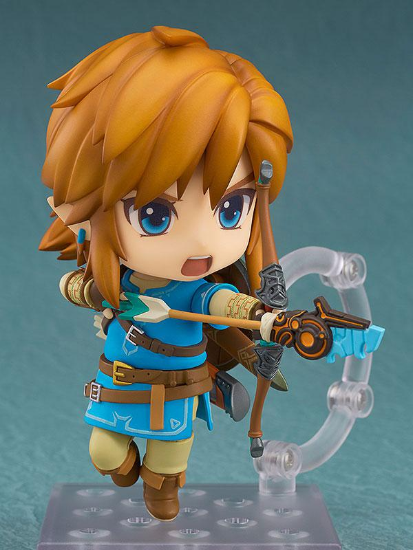 Nendoroid The Legend of Zelda Link Breath of the Wild Ver. DX Edition 3