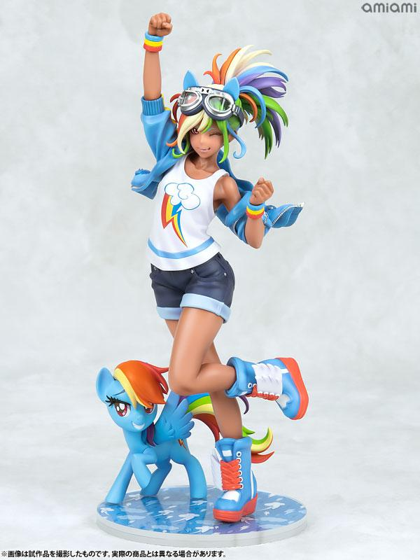 MY LITTLE PONY BISHOUJO Rainbow Dash 1/7 Complete Figure main