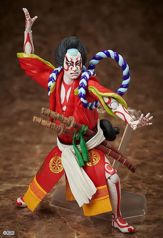 figma Kabuki -Yoshitsune Senbon Zakura- Kitsune Tadanobu 0