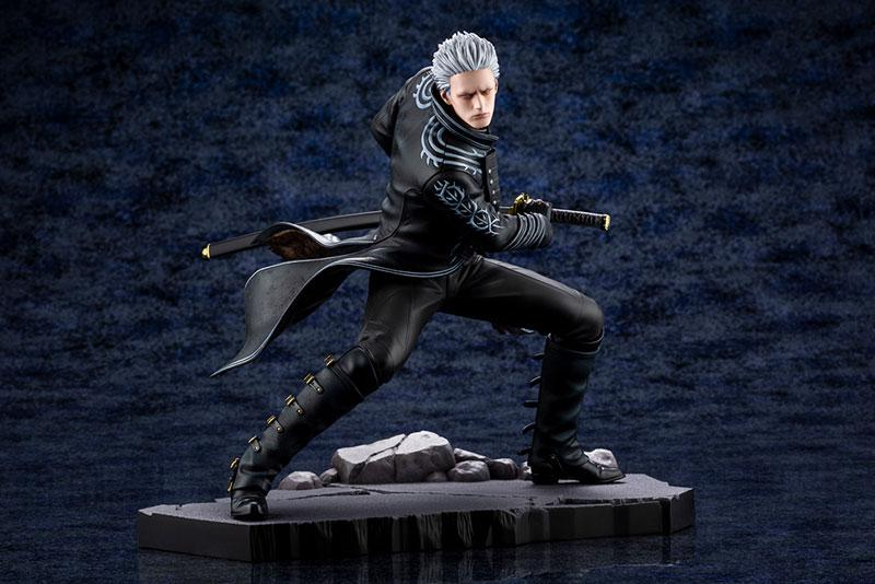 ARTFX J Devil May Cry 5 Vergil 1/8 Complete Figure main