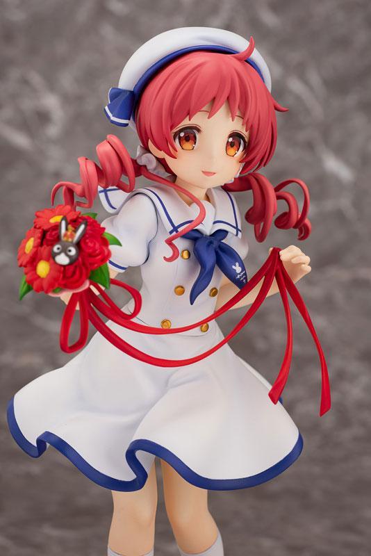 Is the order a rabbit?? Megu (Summer Uniform) 1/7 Complete Figure 3