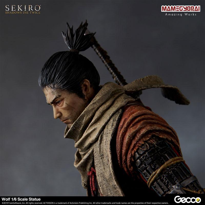 [Bonus] SEKIRO: SHADOWS DIE TWICE/ Wolf 1/6 Scale Statue 6