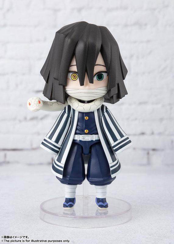 """Figuarts mini Obanai Iguro """"Demon Slayer: Kimetsu no Yaiba"""" product"""