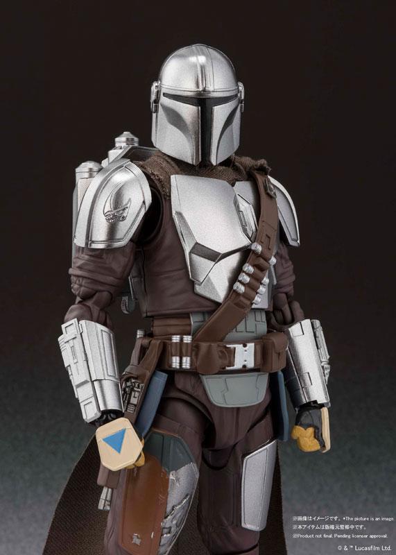 S.H.Figuarts The Mandalorian (Besker Metal Armor Version) (STAR WARS: The Mandalorian)