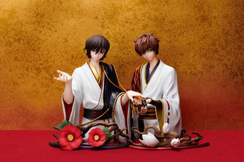 Statue and ring style Code Geass Lelouch Lamperouge & Suzaku Kururugi Ring #15 (Figure + Ring) product