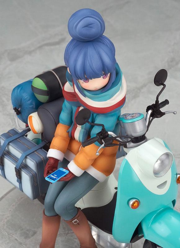 Yuru Camp Rin Shima with Scooter 1/10 Complete Figure 10