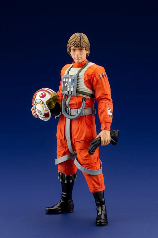ARTFX+ Star Wars Luke Skywalker X-WING Pilot 1/10 Easy Assembly Kit product