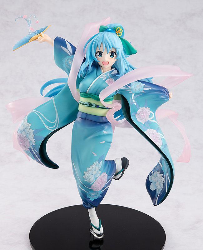 KDcolle Movie KonoSuba: God's Blessing on this Wonderful World! Kurenai Densetsu Aqua Oiran Ver. 1/7 Complete Figure