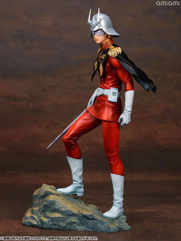GGG (Gundam Guys Generation) Mobile Suit Gundam Char Aznable 1/8 Complete Figure 0