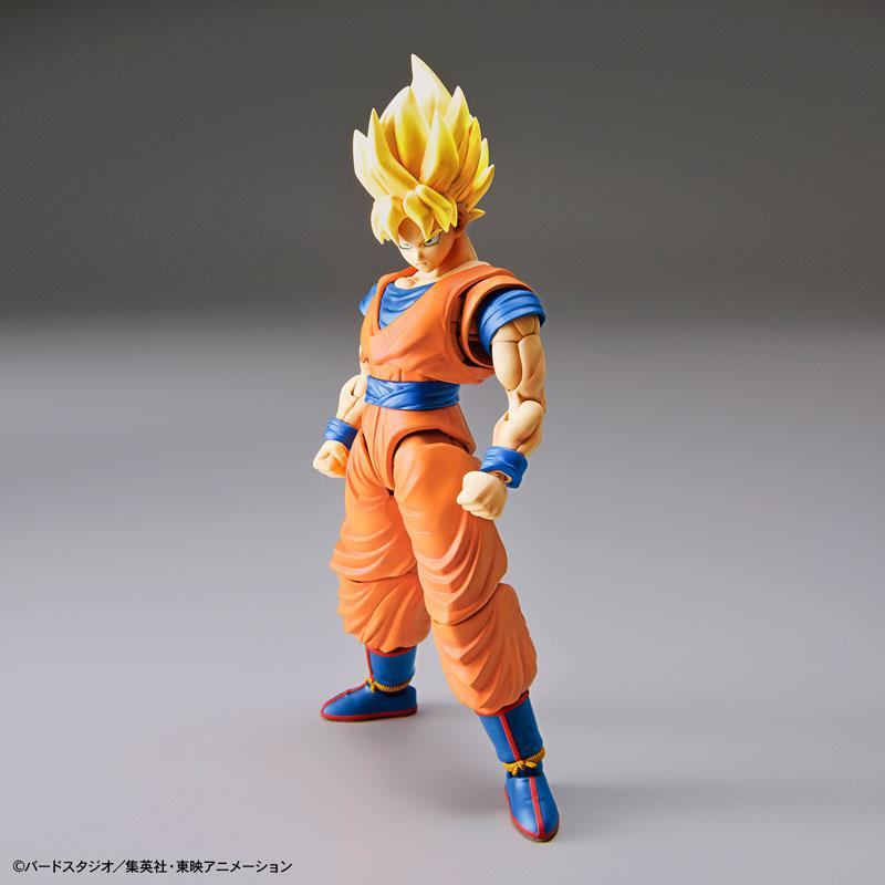 "Figure-rise Standard Super Saiyan Son Goku (Renewal Ver.) Plastic Model ""Dragon Ball"" product"