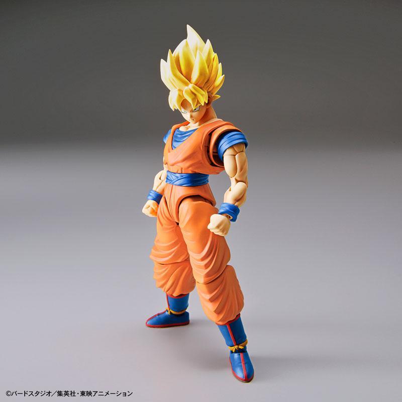 "Figure-rise Standard Super Saiyan Son Goku (Renewal Ver.) Plastic Model ""Dragon Ball"" main"