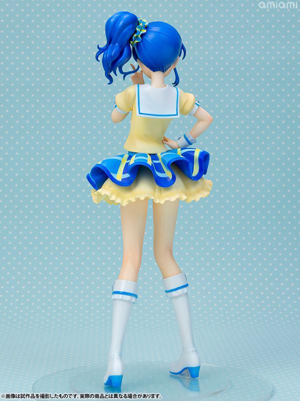 Lucrea Aikatsu! Aoi Kiriya Blue Stage Coord 1/7 Complete Figure 3