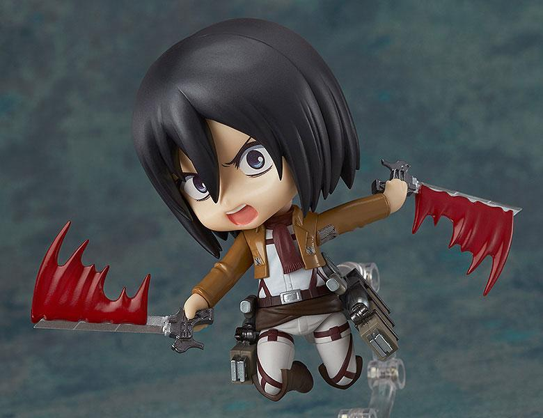 Nendoroid Attack on Titan Mikasa Ackerman