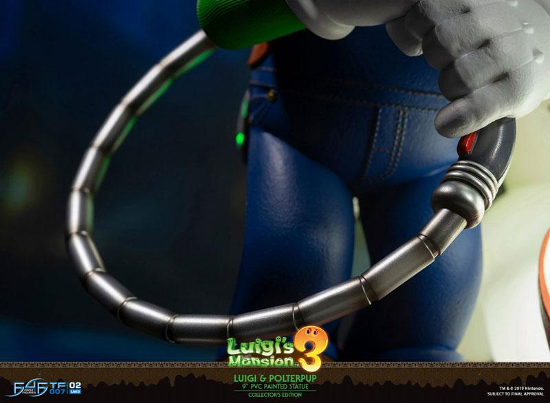 Luigi's Mansion 3/ Luigi 9 Inch PVC Statue Collector Edition 21