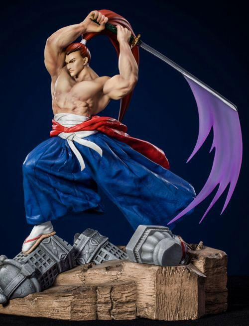 Samurai Shodown 2/ Genjuro Kibagami 1/8 Statue 16