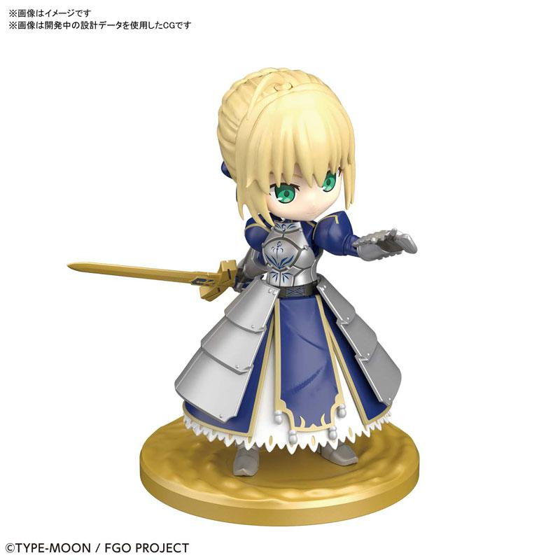"""Puchirittsu Saber/Altria Pendragon Plastic Model """"Fate/Grand Order"""" 0"""