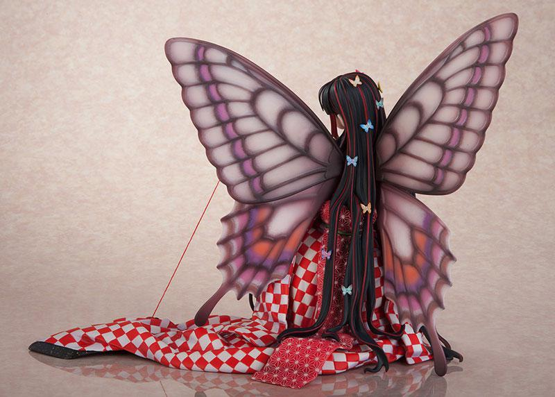 Jin Happoubi Art Collection Red Butterfly -Hoteri- Complete Figure 5
