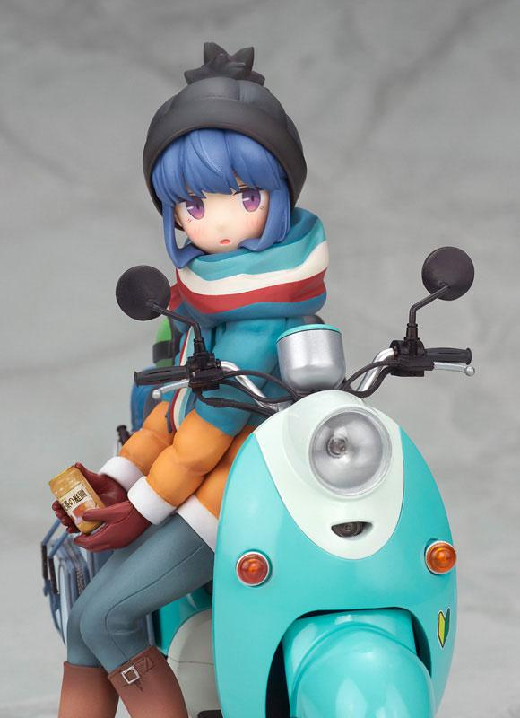 Yuru Camp Rin Shima with Scooter 1/10 Complete Figure 6