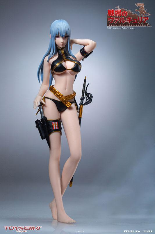 Valkyria Chronicles Selvaria Bles 1/6 Seamless Action Figure 0