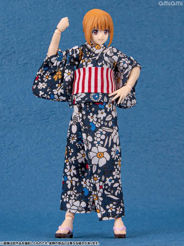figma Styles Female Body (Emily) with Yukata Outfit