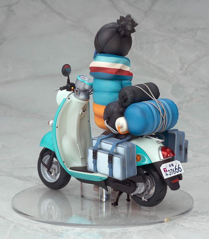 Yuru Camp Rin Shima with Scooter 1/10 Complete Figure 2